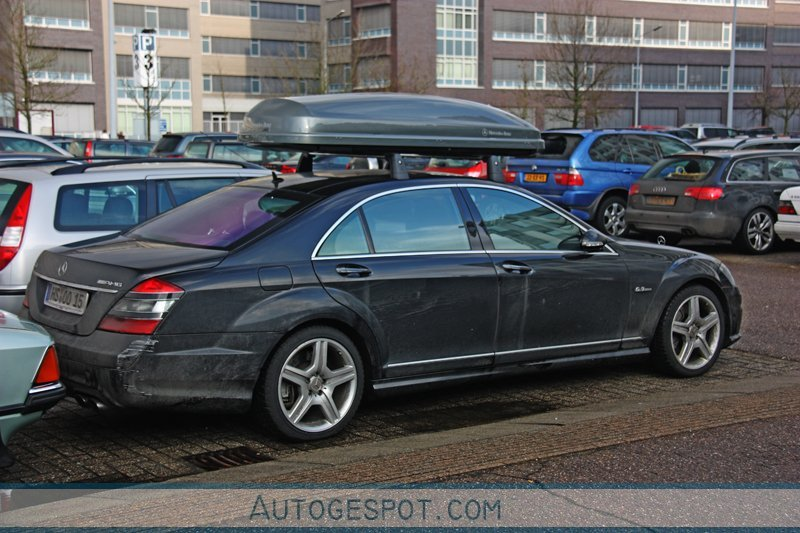 Mercedes Benz S 63 Amg W221 18 January 2010 Autogespot