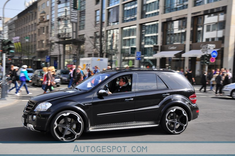 mercedes benz ml 63 amg w164 2009 7 april 2010 autogespot. Black Bedroom Furniture Sets. Home Design Ideas