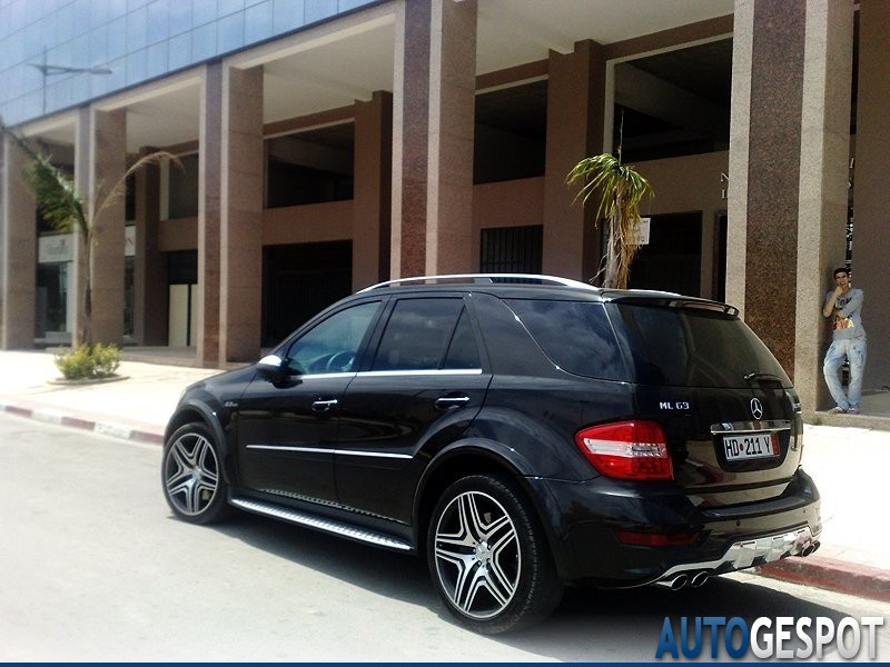 Mercedes benz ml 63 amg w164 2009 28 july 2010 autogespot for Fred martin mercedes benz