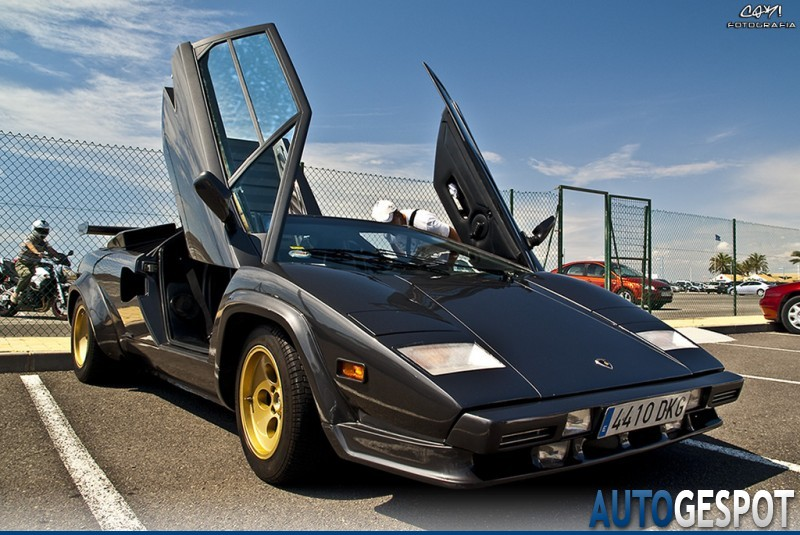 lamborghini countach 5000 s 22 agosto 2010 autogespot. Black Bedroom Furniture Sets. Home Design Ideas