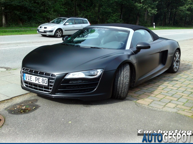 audi r8 v10 spyder 19 september 2010 autogespot. Black Bedroom Furniture Sets. Home Design Ideas