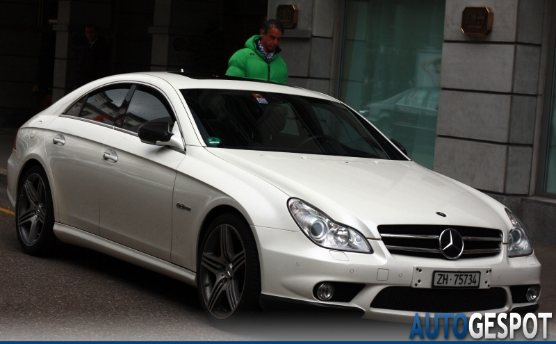Mercedes benz cls 63 amg c219 2008 21 november 2010 for Mercedes benz cls 2010