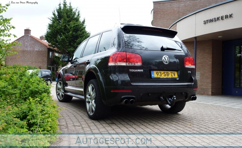Review Volkswagen Touareg W12 Sport