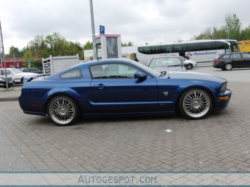 Ford Mustang Gt 45th Anniversary Edition 9 May 2010