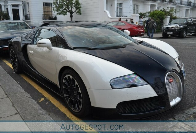 Bugatti Veyron 16.4 Grand Sport Blue Carbon