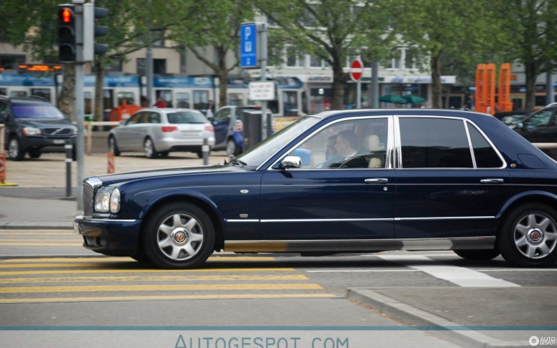 Bentley Arnage 450 HR Mulliner Limousine