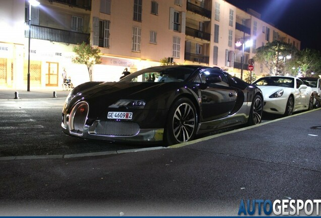Bugatti Veyron 16.4 Grand Sport Grey Carbon