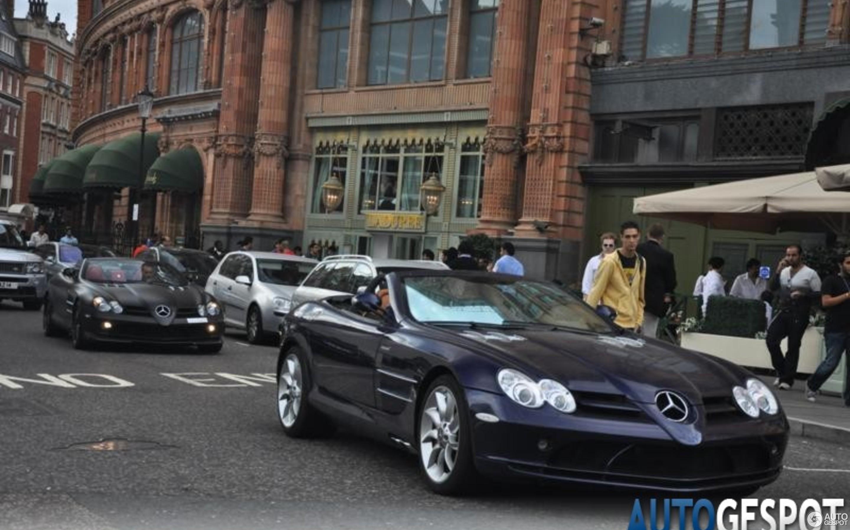 mercedes-benz slr mclaren roadster - 30 juli 2010 - autogespot