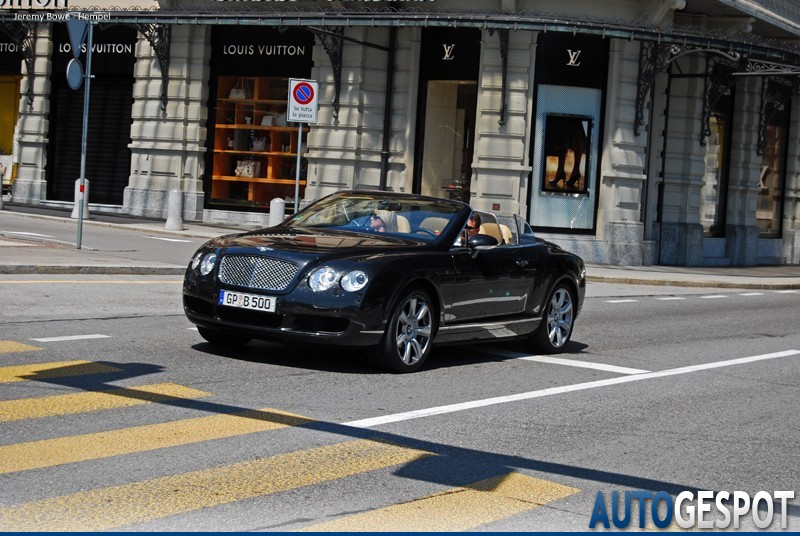 Bentley Continental GTC