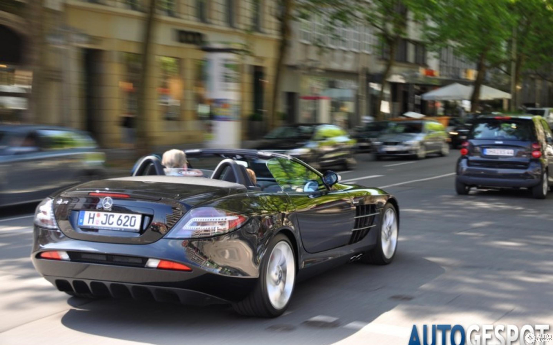 mercedes-benz slr mclaren roadster - 21 august 2010 - autogespot
