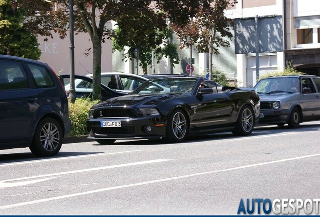 Ford Mustang Shelby GT500 Convertible 2010