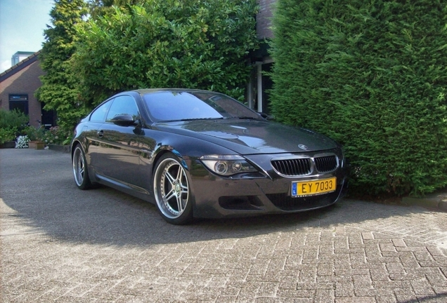 BMW M6 E63 Racing Dynamics
